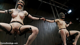 Juliette March Ruby Reaper in Vulnerable pound slut pussy succeed in tamed by the meanest machines around - DeviceBondage